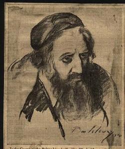 Maurice Schwartz in The Merchant of Venice, 1930