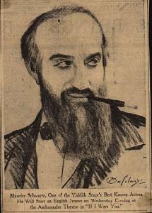 Maurice Schwartz in If I Were You, 1931